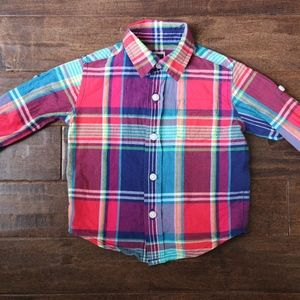 Janie & Jack 3-6M Baby Boy Button Down